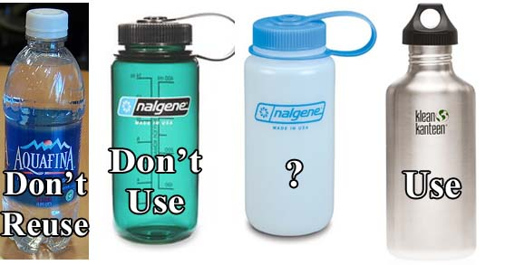 Water Bottles Graphic, Bottom Line
