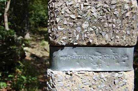 Appalachian Trail Sign Shenandoah National Park