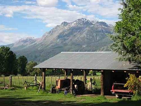 Argentina Organic Farm Chacra Millalen