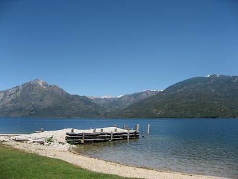 Chacra Millalen Lago Epuyen near El Hoyo, Argentina