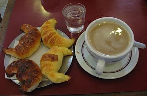 Argentine breakfast