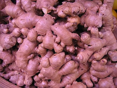 Ginger treats indigestion and acts as a mild pain reliever