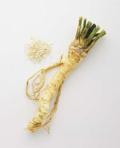 Horseradish is good for digestive issues and treats constipation