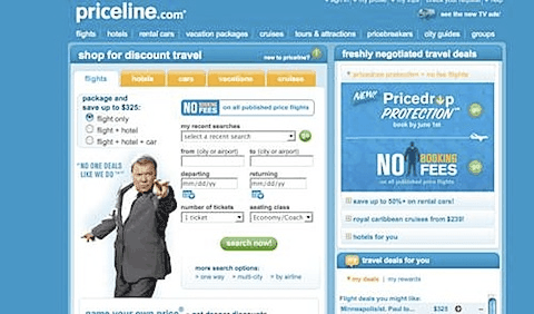 Priceline for Car Rentals
