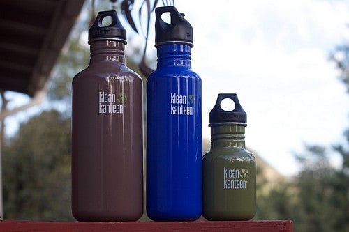 Klean Kanteen Stainless Steel Water Bottle Review BPA-free Bottles