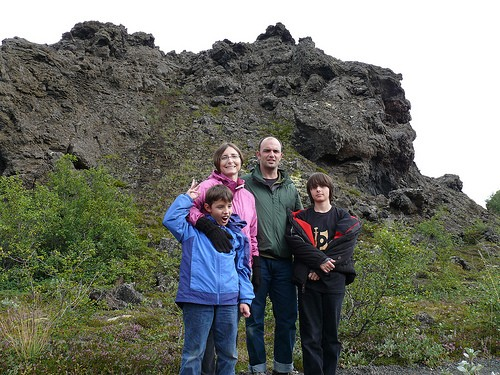 Iceland with Kids Travel Family Teenagers