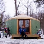 Year-Round Camping with a Yurt