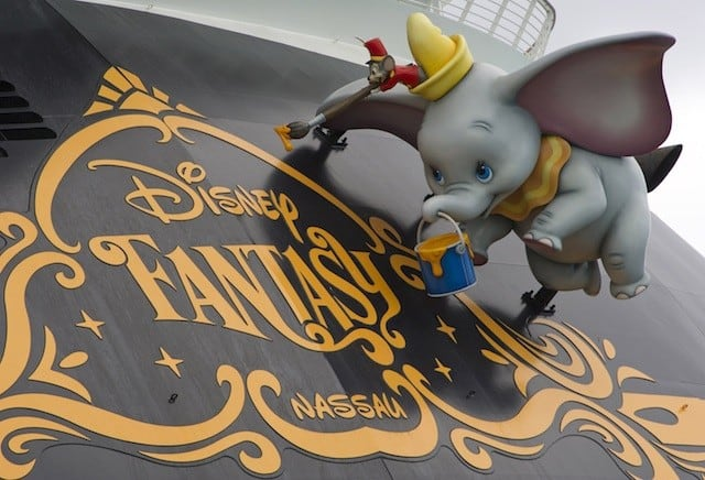 Dumbo and Timothy Painting the Disney Fantasy