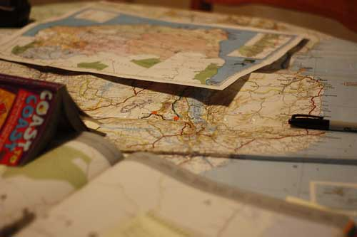 Make copies of itineraries and your passport
