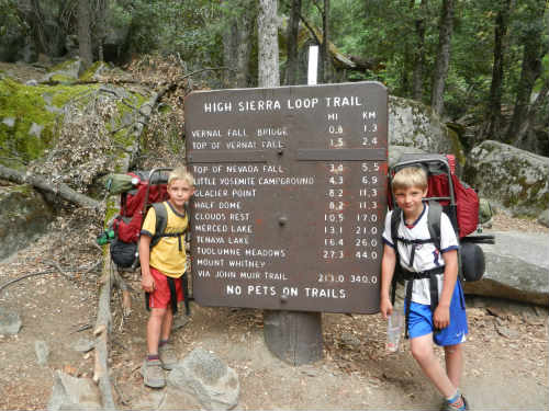 hiking the John Muir Trail