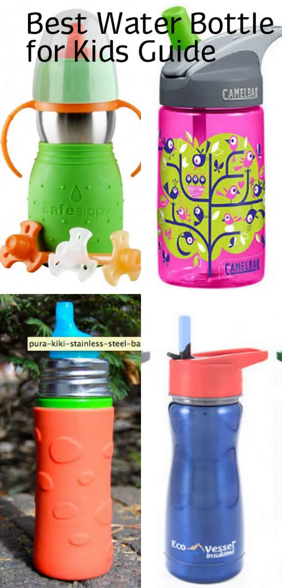 different colored Kids Water Bottle