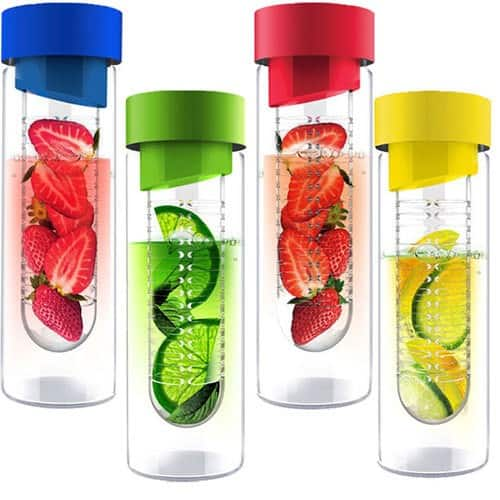Fruit infuser bottles water bottle with infuser infused water bottle - Best Fruit Infused Water Bottles Guide Review Top 3 To Pick