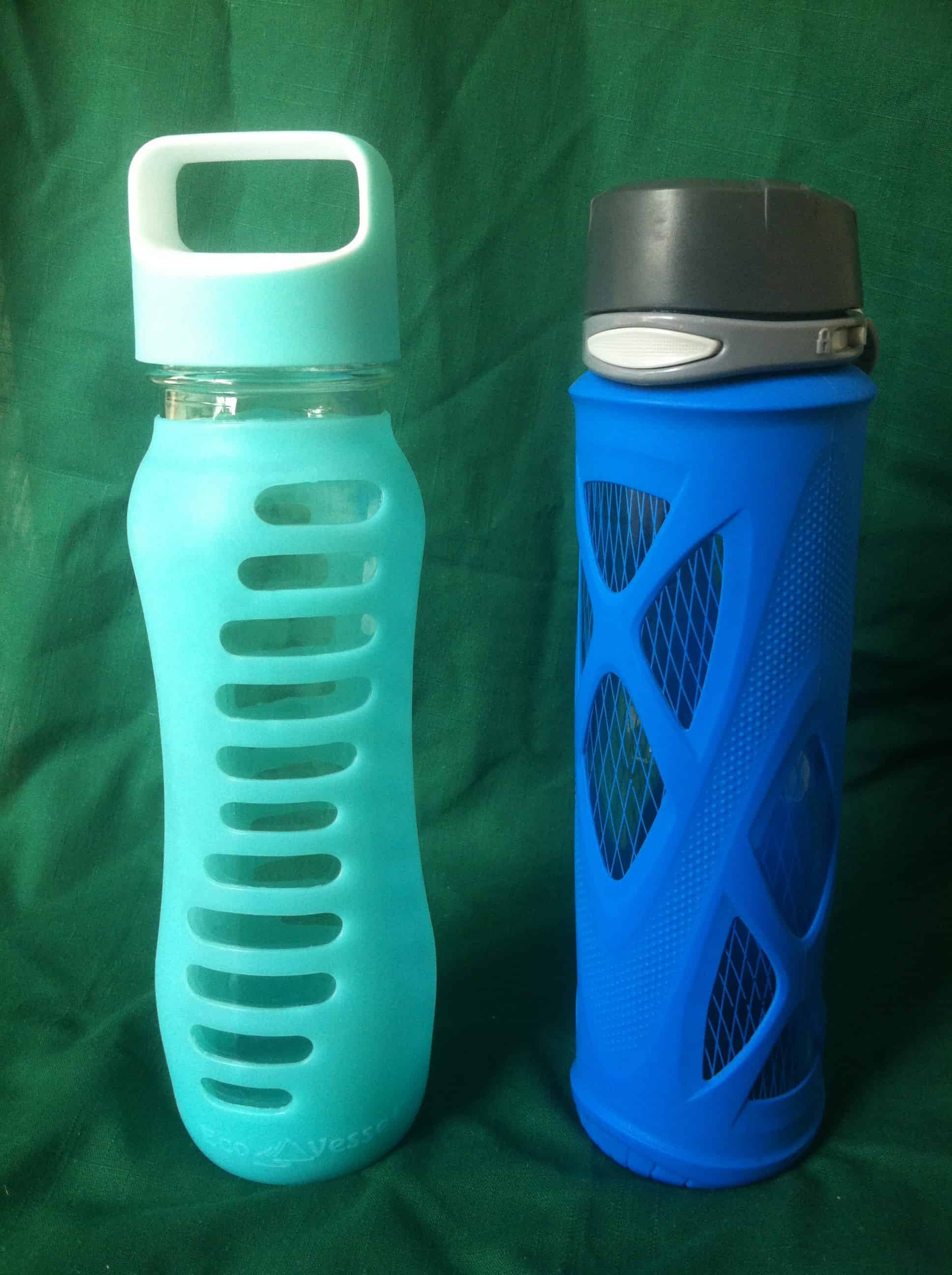 Eco Vessel Glass Water Bottle vs Zulz Glass Water Bottle