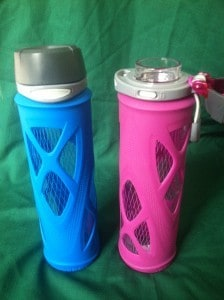 Zulu Glass One-Touch Water Bottles