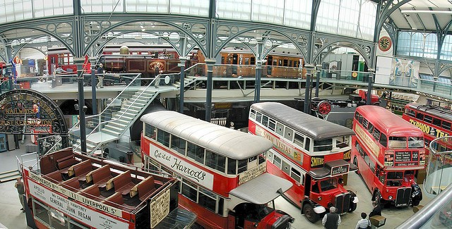 Children in London will Love the London Transport Museum