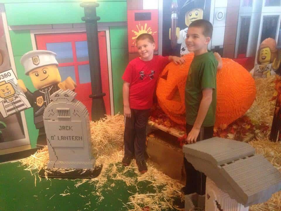 Legoland Chicago Halloween and Pumpkin