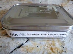 stainless steel lunch