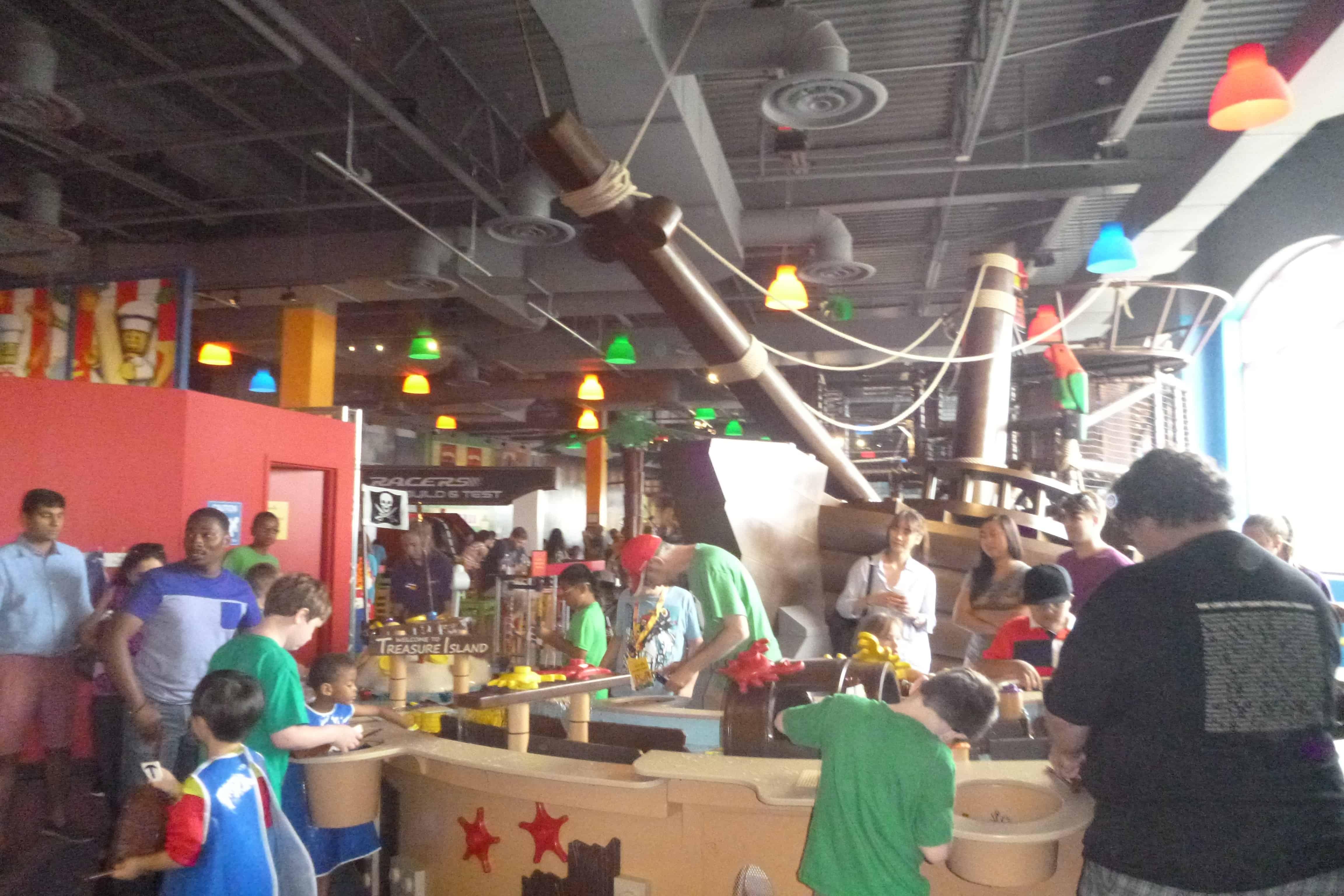 Legoland Chicago Pirate Adventure Island Exhibit