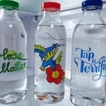 Faucet Face Glass Water Bottles