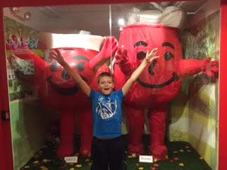 Nebraska with kids KOOL-AID exhibit