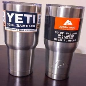 4180c4b019f Review of Yeti Tumbler vs Ozark Trail: Which is of Better Value?