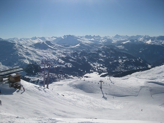 Ski Holiday on the Alps, Skiing the Alps
