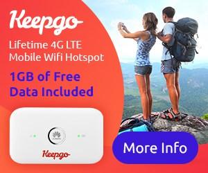 Wifi hotspot keepgo