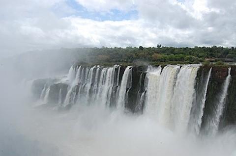 devils throat Iguazu Falls Argentina